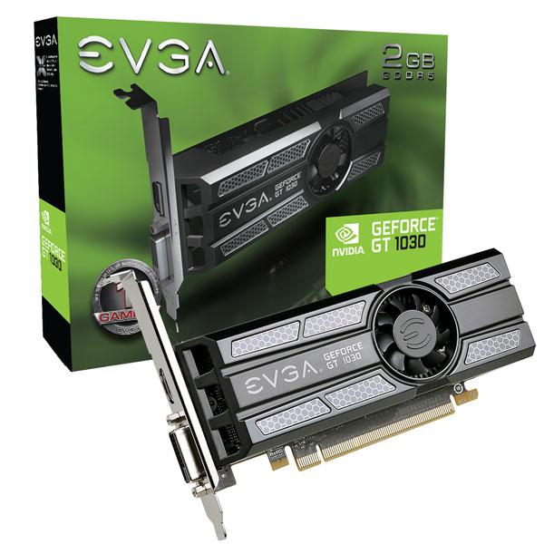 EVGA 02G-P4-6333-KR GeForce GT 1030 2GB GDDR5 graphics card