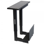 Lindy 40284 Desk-mounted CPU holder Black CPU holder