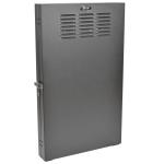 Tripp Lite 2U SmartRack Low-Profile Wall-Mount Rack Enclosure Cabinet Vertical-Mount Server-Depth