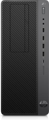 HP Z1 Entry Tower G5 9th gen Intel® Core™ i7 i7-9700 16 GB DDR4-SDRAM 256 GB SSD Black Workstation