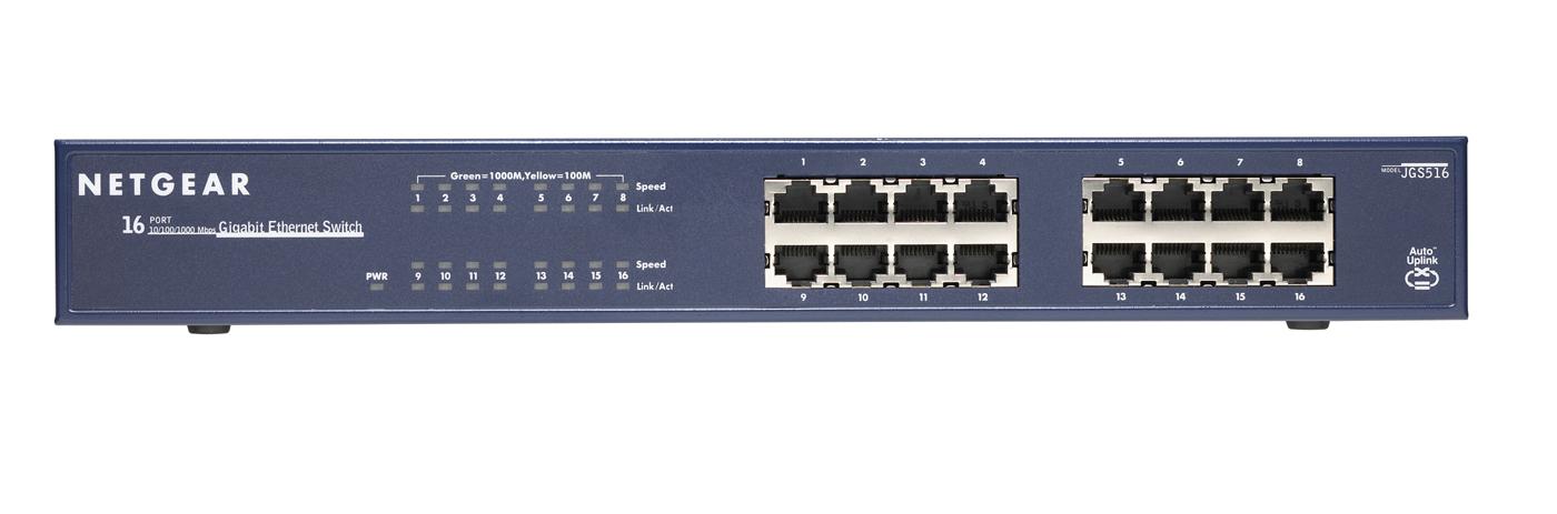 Netgear JGS516 Unmanaged Blue