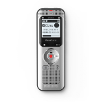 Philips Voice Tracer DVT2050/00 dictaphone Flash card Silber