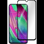 eSTUFF Samsung Galaxy A40 Full Black Clear screen protector Mobile phone/Smartphone 1 pc(s)