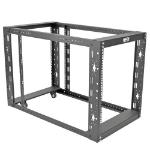 Tripp Lite 12U SmartRack 4-Post Open Frame Rack Cabinet Standard-Depth