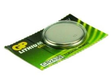2-Power 3V Lithium Single-use battery CR2430