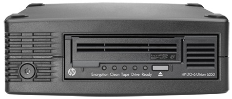 Hewlett Packard Enterprise StoreEver LTO-6 Ultrium 6250