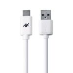 ZAGG 409903209 USB-kabel 1 m 2.0/3.2 Gen 1 (3.1 Gen 1) USB C USB A Wit