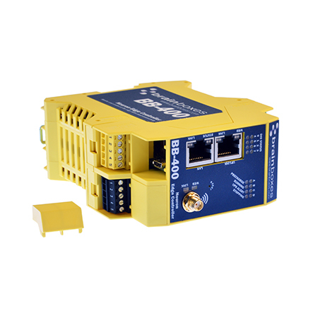 Brainboxes BB-400 gateway/controller 10,100 Mbit/s