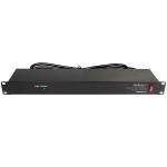 StarTech.com RKPW081915 power distribution unit (PDU) 8 AC outlet(s) 1U Black