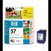 HP 57 Tri-colour Inkjet Print Cartridge