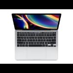 """Apple MacBook Pro Notebook Silver 33.8 cm (13.3"""") 2560 x 1600 pixels 10th gen Intel® Core™ i5 16 GB LPDDR4x-SDRAM 512 GB SSD Wi-Fi 5 (802.11ac) macOS Catalina"""