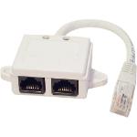 Cablenet 22 2138 network splitter White