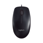 Logitech M90 mice USB Optical 1000 DPI Ambidextrous Black