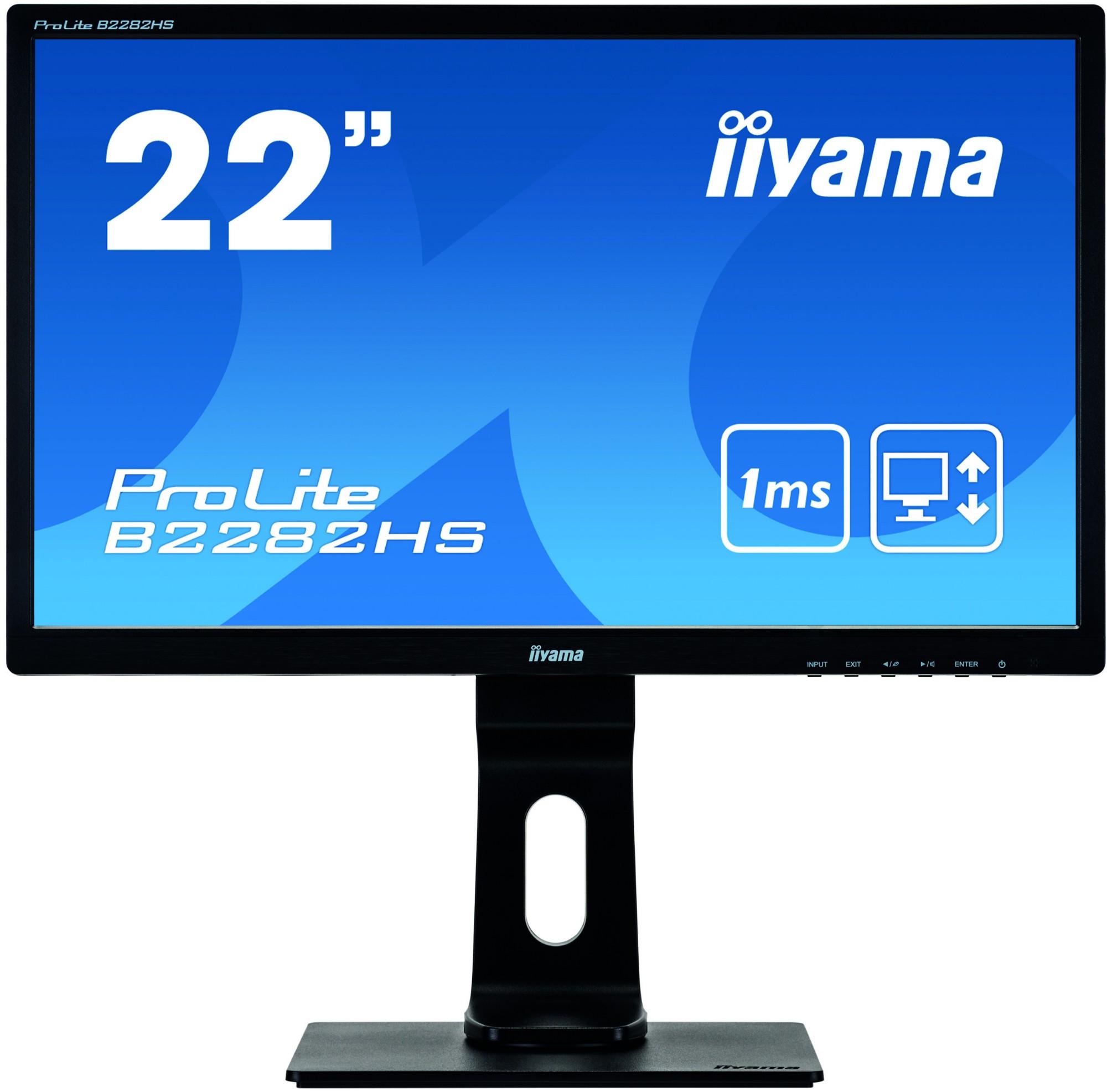 iiyama ProLite B2282HS-B5 LED display 54.6 cm (21.5