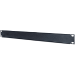 "Intellinet 19"" Blank Panel, 1U, Black"