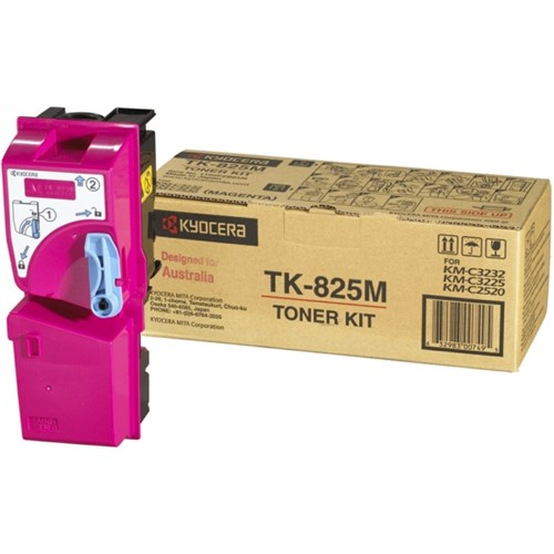 KYOCERA 1T02FZBEU0 (TK-825 M) Toner magenta, 7K pages