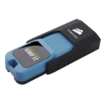Corsair Voyager Slider X2 128GB 128GB USB 3.0 (3.1 Gen 1) Type-A Black,Blue USB flash drive