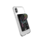 Speck GrabTab Neon Nights Mobile phone/Smartphone Black Passive holder