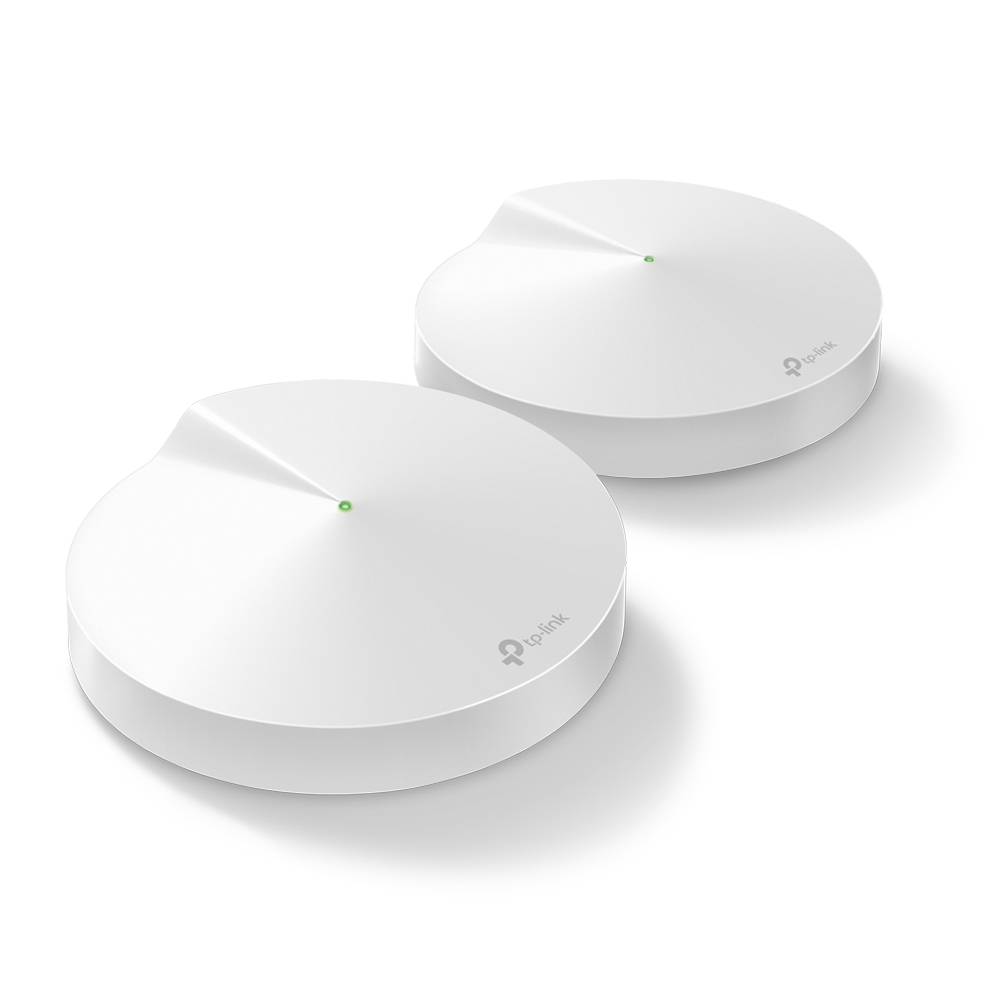 TP-LINK Deco M9 Plus (2-pack) wireless router Dual-band (2.4 GHz / 5 GHz) Gigabit Ethernet White