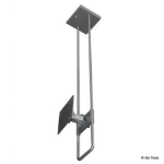 R-Go Tools R-Go Top Down Wall Bracket, adjustable, silver RGOSC140