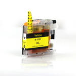 Compatible Brother LC125XL Yellow Ink Cartridge