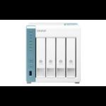 QNAP TS-431K NAS Tower Ethernet LAN Blue, White Alpine AL-214 TS-431K/24TB-N300
