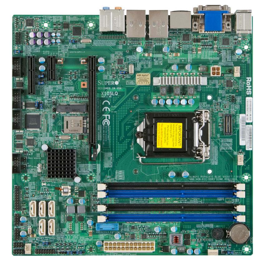 Supermicro X10SLQ server/workstation motherboard LGA 1150 (Socket H3) ATX