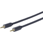 VivoLink 5.0m 3.5mm - 3.5mm audio cable 5 m Black