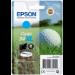 Epson Golf ball Singlepack Cyan 34XL DURABrite Ultra Ink