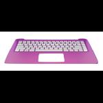 HP 792792-061 Housing base + keyboard notebook spare part