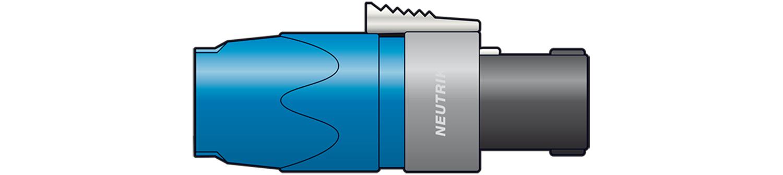 AV Link 763.413UK wire connector NL2FX Blue