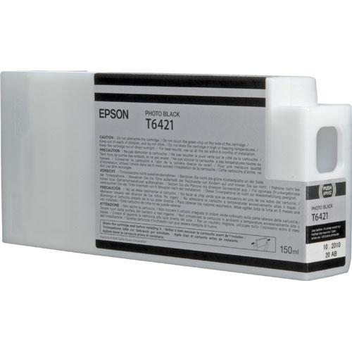 Epson C13T642100 (T6421) Ink cartridge black, 150ml