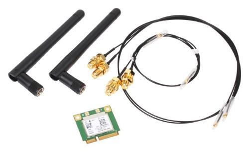 Shuttle WLN-P Internal WLAN/Bluetooth 433.3Mbit/s networking card