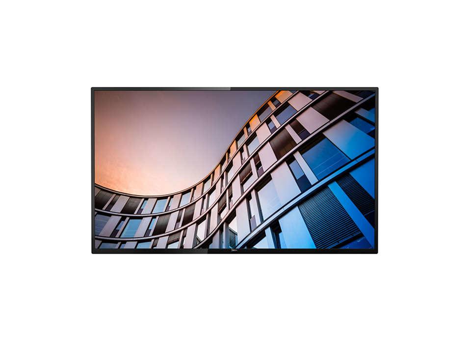 """Philips 50BFL2114/12 televisión para el sector hotelero 127 cm (50"""") 4K Ultra HD 350 cd / m² Negro 20 W A+"""