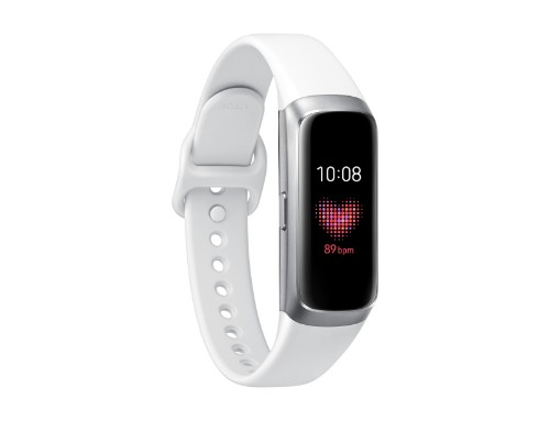 "Samsung Galaxy Fit Wristband activity tracker Silver AMOLED 2.41 cm (0.95"")"