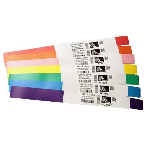 Zebra 10012713-3K etiqueta de impresora Azul Etiqueta para impresora autoadhesiva