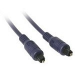 C2G 1m Velocity Toslink Optical Digital Cable cable de audio Negro