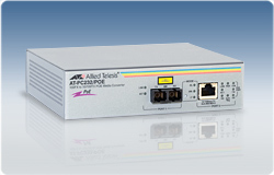 Allied Telesis AT-PC232/POE 100Mbit/s 1310nm network media converter
