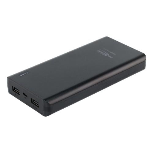 Ansmann 1700-0068 power bank Black Lithium Polymer (LiPo) 20800 mAh
