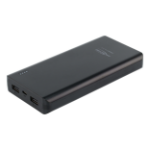 Ansmann 1700-0068 power bank Black Lithium Polymer (LiPo) 20800 mAh