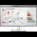 """HP EliteDisplay E273q 68.6 cm (27"""") 2560 x 1440 pixels Quad HD LED Black, Silver"""