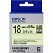 Epson C53S655015 (LK-5ZBU) Ribbon, 18mm x 1,5m