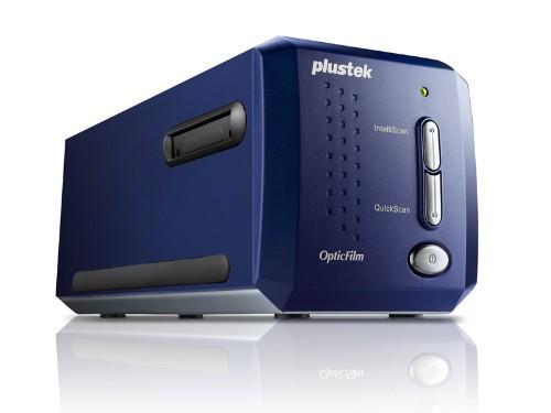 Plustek OpticFilm 8100 7200 x 7200 DPI Film/slide scanner Blue