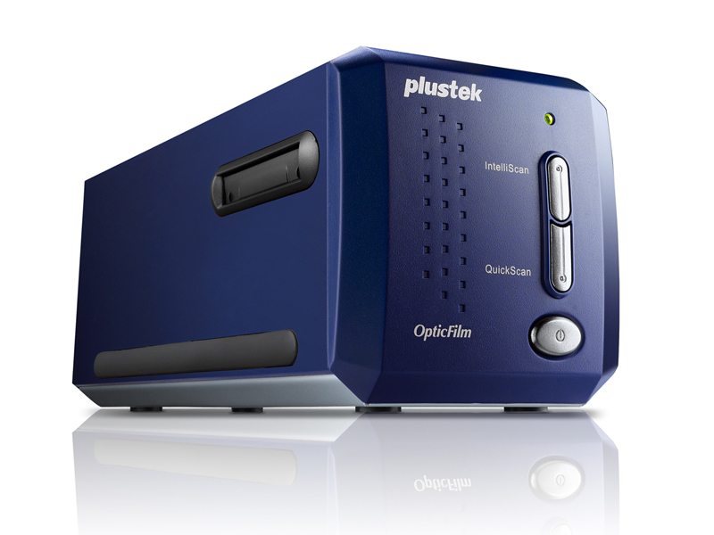 Plustek OpticFilm 8100 7200 x 7200 DPI Film/slide scanner Blue