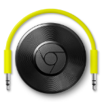 Google Chromecast Audio digital audio streamer Black Wi-Fi
