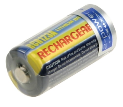 2-Power Camera Battery 3v 500mAh (Rechargeable)