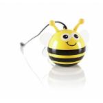 KitSound KSNMBBEE Mono portable speaker 2W Black, Yellow