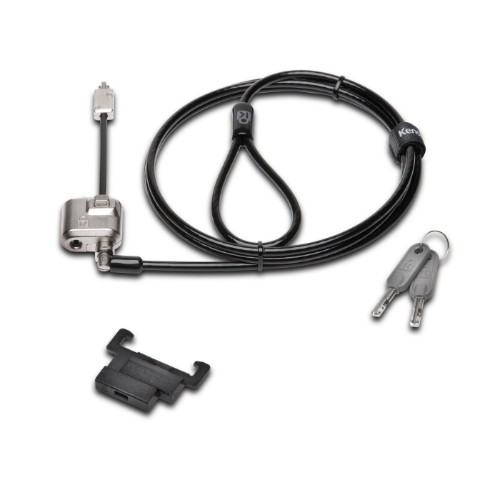 Kensington K67976WW Black,Stainless steel cable lock