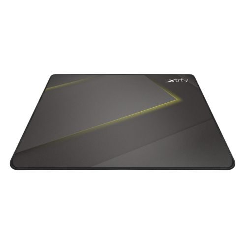 Xtrfy GP1 Medium Surface Gaming Mouse Pad, Black & Yellow, Cloth Surface, Washable, 320 x 270 x 2 mm