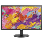 "AOC Value-line I2080SW 19.5"" HD LED Flat Black computer monitor LED display"